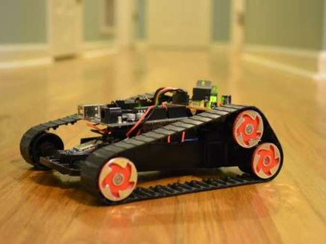 Arduino controlled bluetooth bot